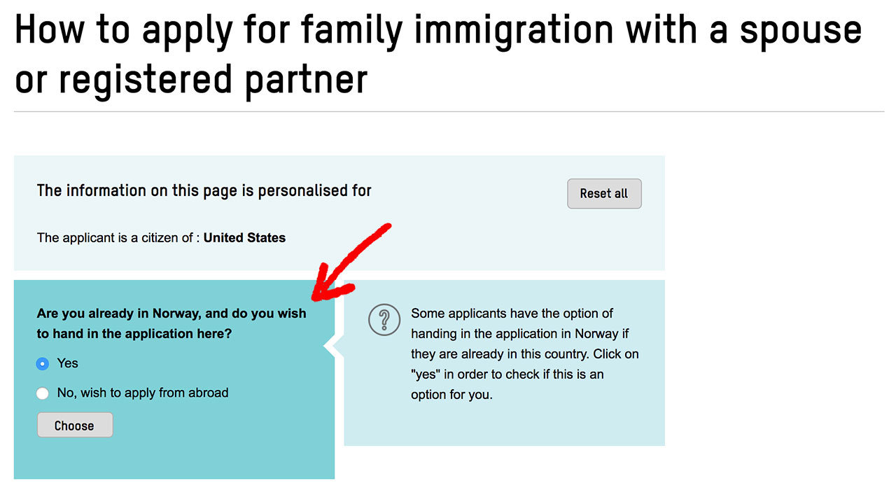 How to apply for family immigration